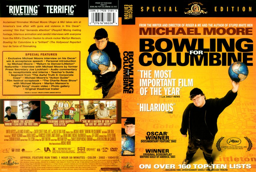 bowling for columbine film analysis essay