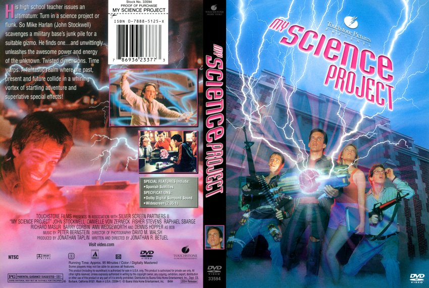 my science project movie Source my science project is an american 1985 comedy science fiction film directed by jonathan r betuel although not performing as well, the movie follows on heels.