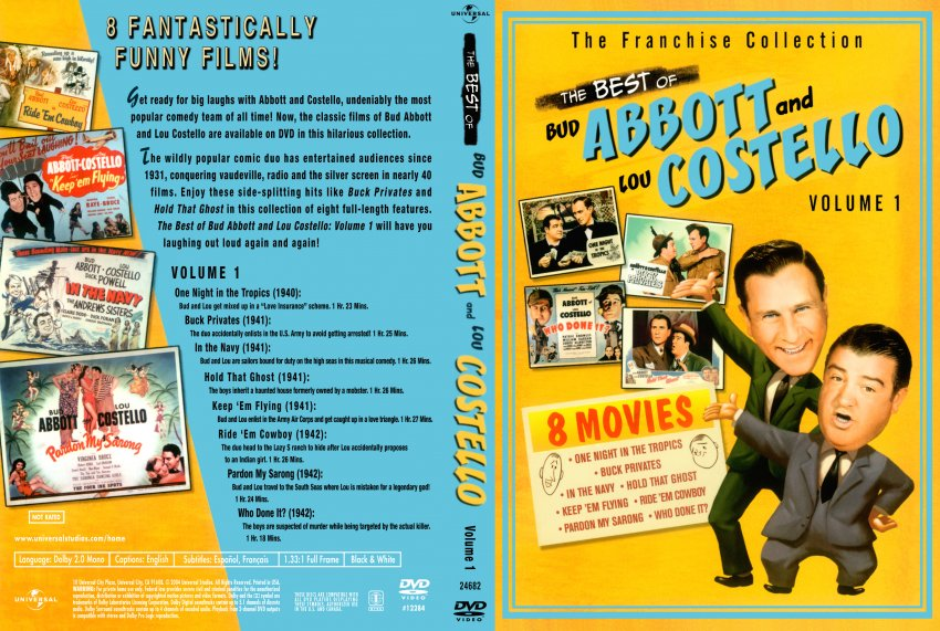 Best Of Abbott And Costello The