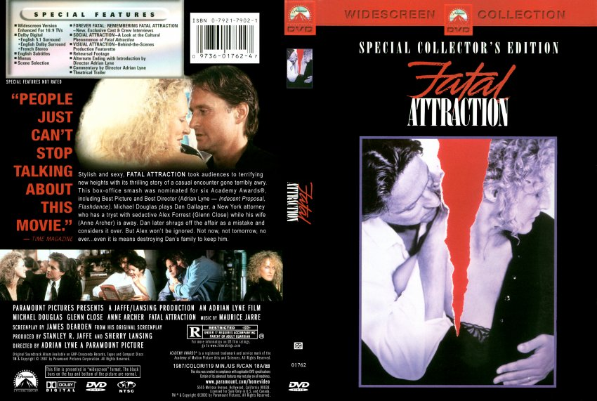 an analysis of the film fatal attraction Fatal attraction, basic instinct, that sort of thing co-hosted by film critics and film fans matthew turner final analysis: matthew, leslie.