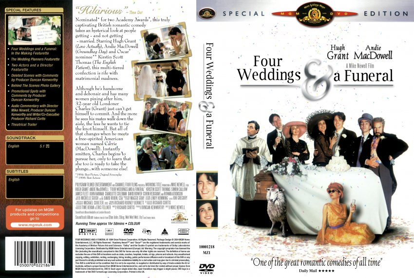 Four weddings and a funeral sex scene