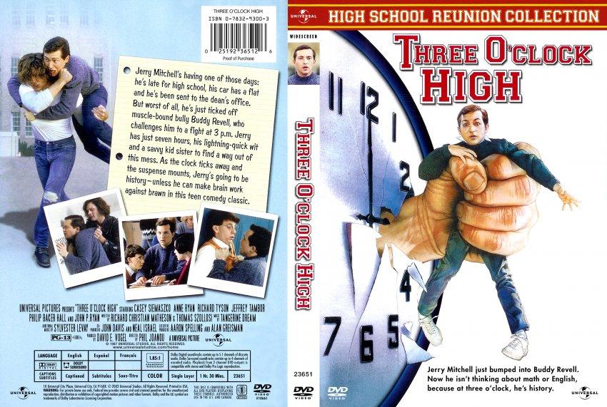 three oclock high movie dvd scanned covers 296three o