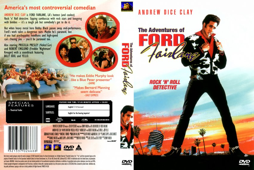 Ford Fairlane Movie Dvd Scanned Covers 296ford