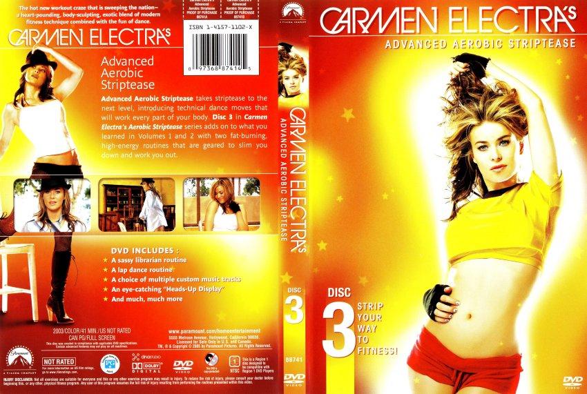 Carmen elektra strip dvd