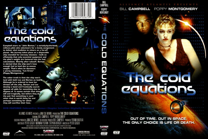 """cold equation """"the cold equation"""" main characters: barton and marilyn (please spell their names right) while we read complete the handout i provided you you might need an ."""