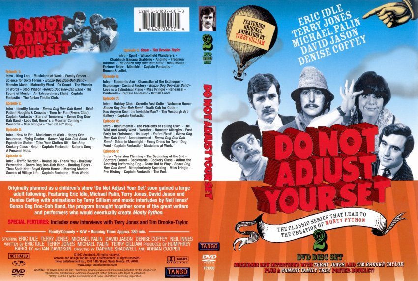 9f72dc07bc6 Do Not Adjust Your Set - Movie DVD Scanned Covers - 3123Do Not ...