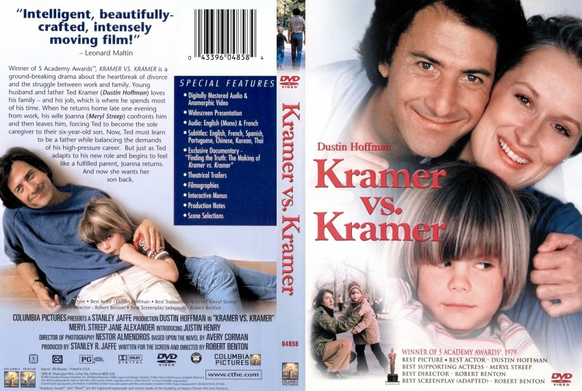 kramer versus kramer Meryl streep didn't have a very good first day on the set of kramer vs kramer, in which she starred opposite dustin hoffman the actress made a new comment on the behavior of hoffman, currently plagued by multiple sexual misconduct claims, in a new york times interview while filming the 1979 movie,.