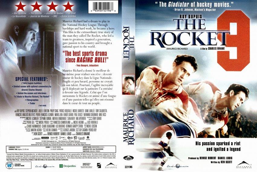 The rocket hockey player movie