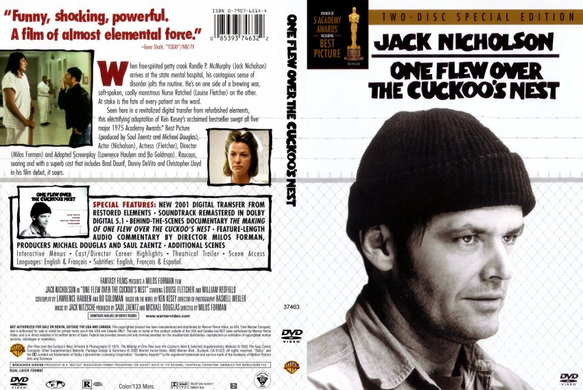a review of one flew over the cuckoos nest a movie by milos forman Moviebabble's attempt to watch and review every movie on the imdb top 250 list starts with a classic, one flew over the cuckoo's nest.