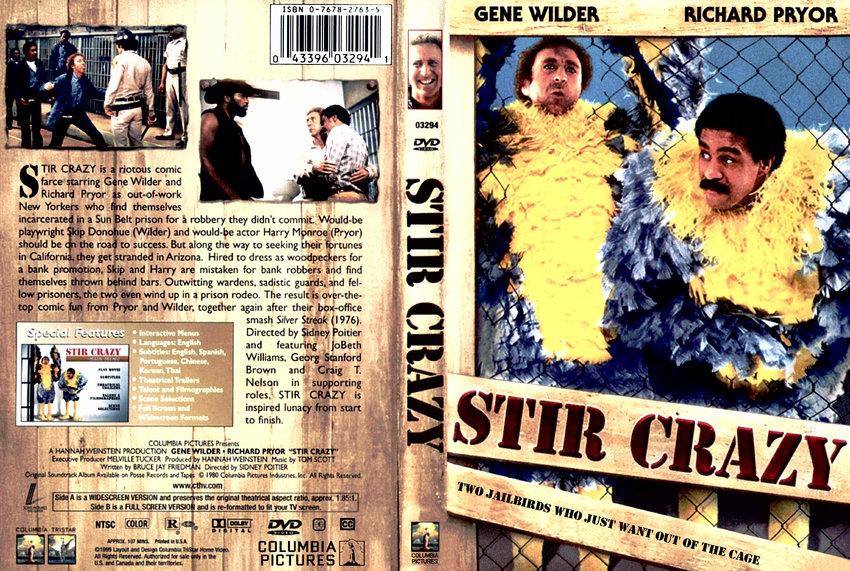 Stir Crazy - Movie DVD Scanned Covers - 335Stir Crazy :: DVD Covers