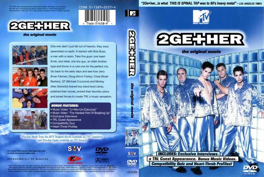 2Gether - Movie DVD Scanned Covers - 3492Ge her :: DVD Covers