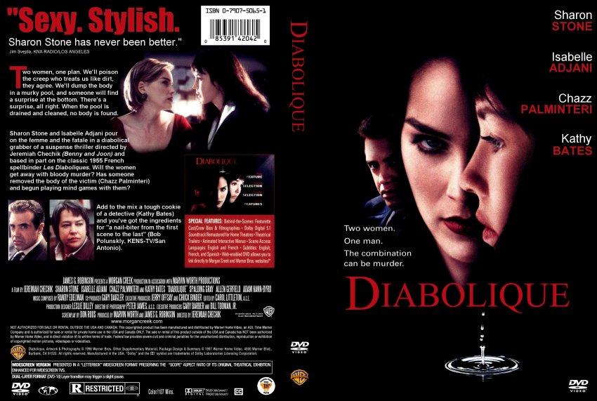 Diabolique - Movie DVD Scanned Covers - 349Diabolique ...