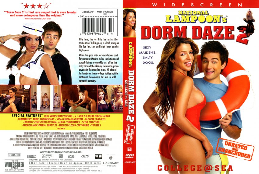 DORM DAZE 2 - Movie DVD Scanned Covers