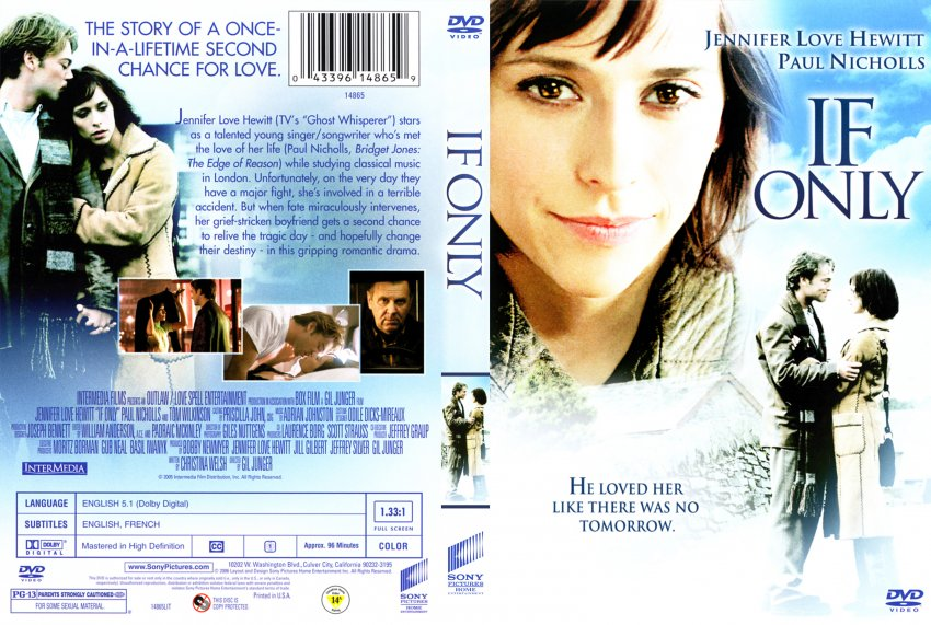 If Only - Movie DVD Scanned Covers - 349If Only :: DVD Covers