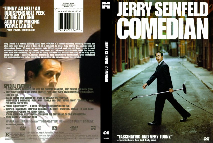 Jerry's comedian movie poster
