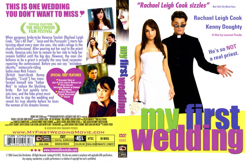 My First Wedding - Movie DVD Scanned Covers - 349My First Wedding ...