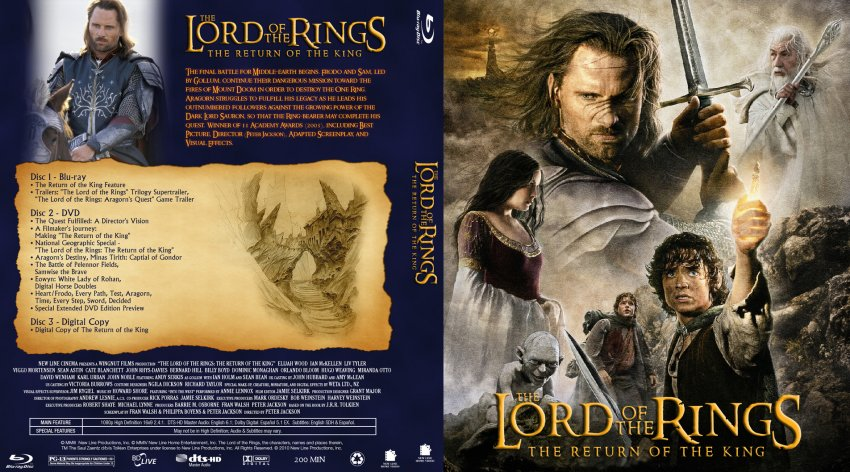 Lord Of The Rings D Dvd