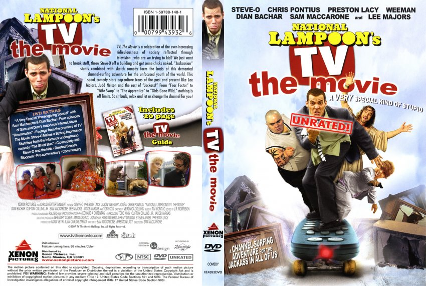 tv the movie national lampoons movie dvd scanned