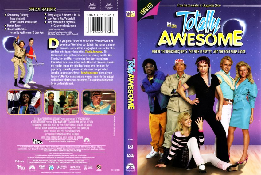 Totally Awesome - Movie DVD Scanned Covers