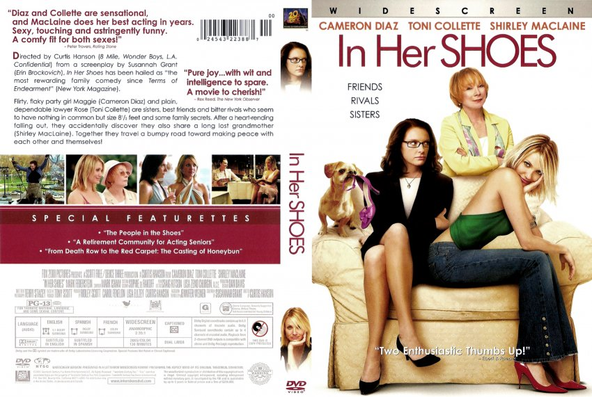 In her Shoes - Movie DVD Scanned Covers - 38in her shoes ...