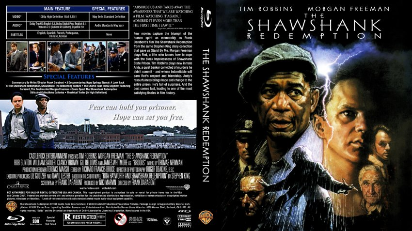 an analysis of the shawshank redemption a movie by frank darabont Download the shawshank redemption screenplay and frank darabont has often compared the this is one of my favorite movies your analysis helped me so.
