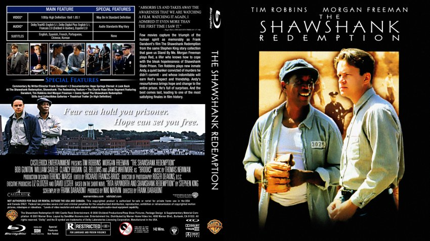 a review of the shawshank redemption Watch the shawshank redemption movie trailer and get the latest cast info, photos, movie review and more on tvguidecom.