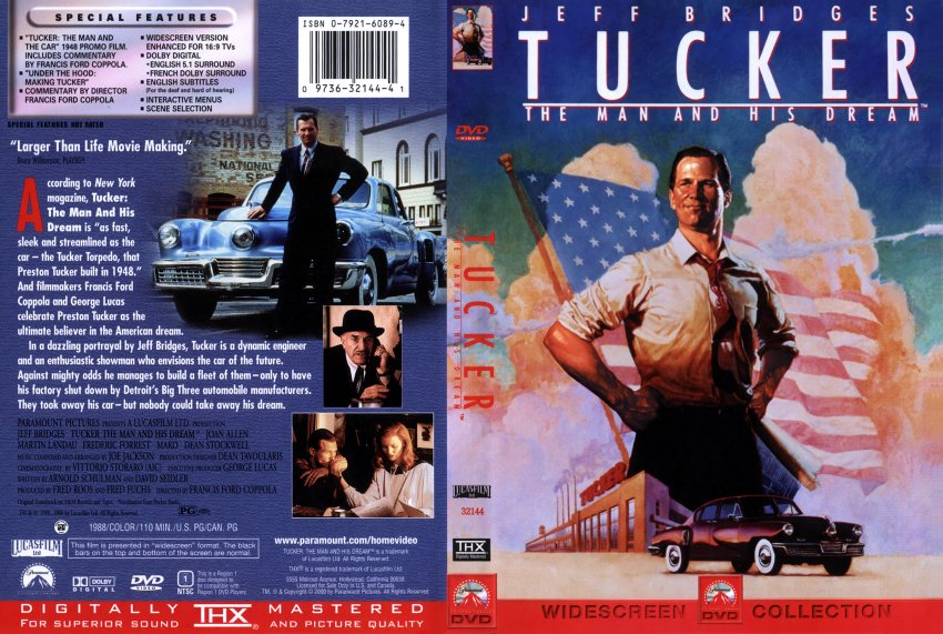 the idea of realizing a personal dream in the movie tucker I was so inspired by the idea, realizing it would be the first of it's kind living the dream verus chasing the dream how to create big magic (with books.
