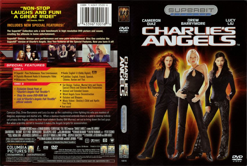 Charlie S Angels Movie Dvd Scanned Covers 446charlie S