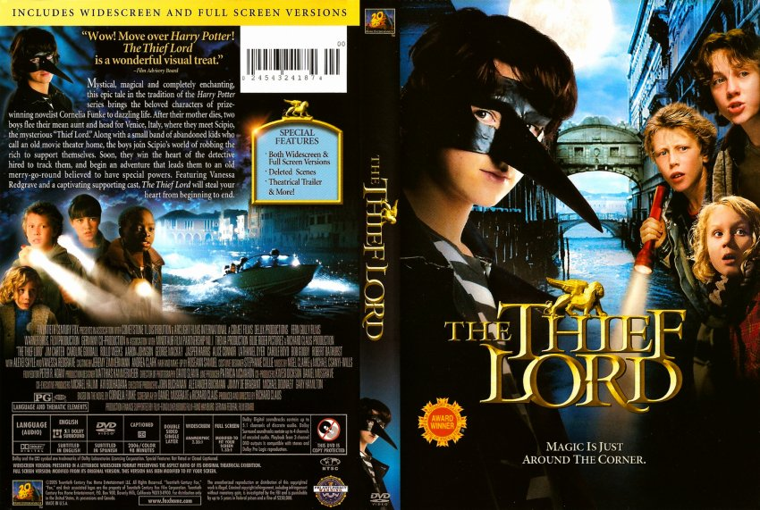 Find the thief lord movie trailer