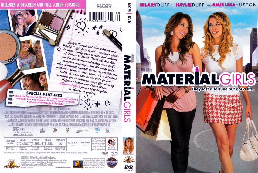 material girls movie dvd scanned covers 5171material