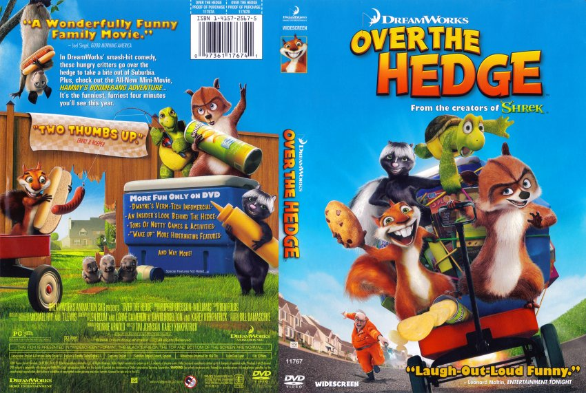 over the hedge movie dvd scanned covers 5171over the