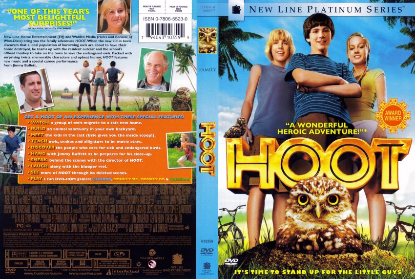 hoot movie dvd scanned covers 5171hoot dvd covers