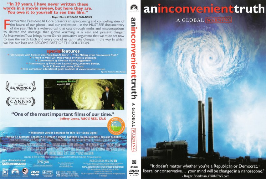 """an inconvient truth The daily caller news foundation re-watched """"an inconvenient truth"""" just to see how well gore's warnings of future climate disaster lined up with reality."""