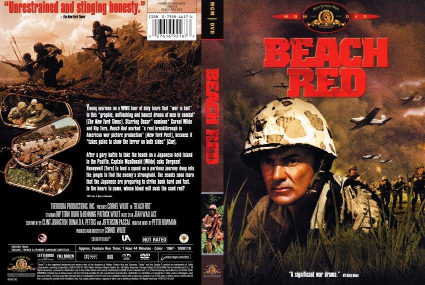 Beach Red - Movie DVD ...