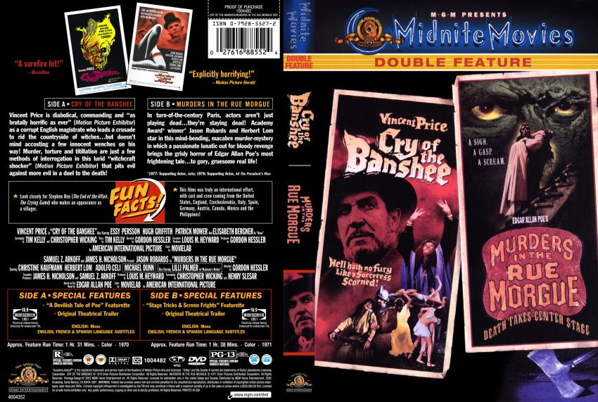 The Murders In The Rue Morgue Movie