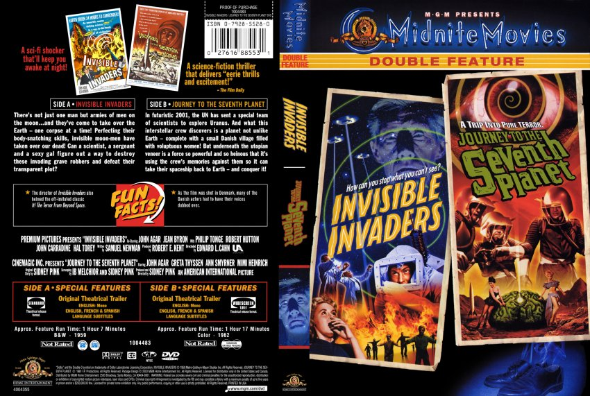 Invisible Invaders - Journey to the Seventh Planet