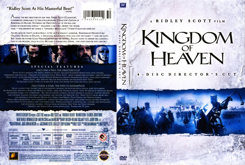 Kingdom of heaven 4 disc director s cut