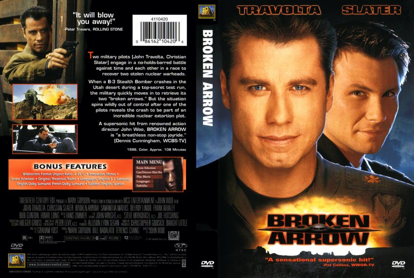 Broken arrow movie times
