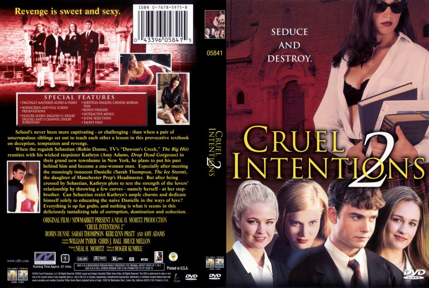 """an analysis of the setting and plot of the film cruel intentions """"there are really great moments in the movie that can be set to and story and writing cruel intentions screens as part of film 4's."""