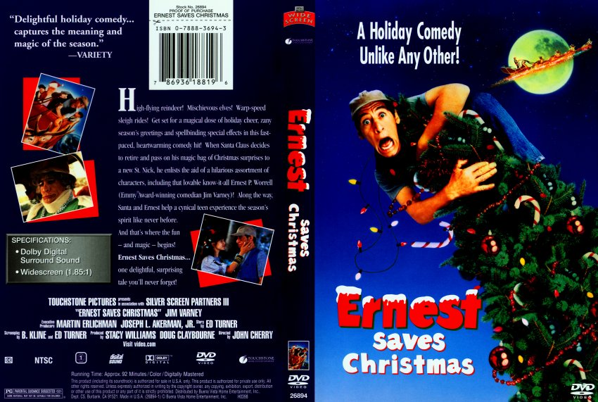ernest saves christmas scan - Ernest Saves Christmas