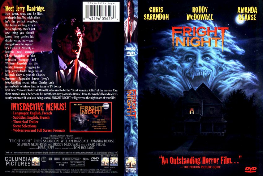 Fright Night Pt  2, II (DVD Artisan + Fright Night 1 (DVD