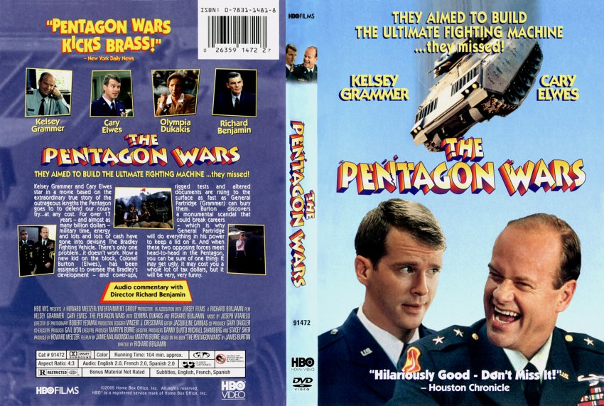 pentagon wars movie dvd scanned covers 575pentagon
