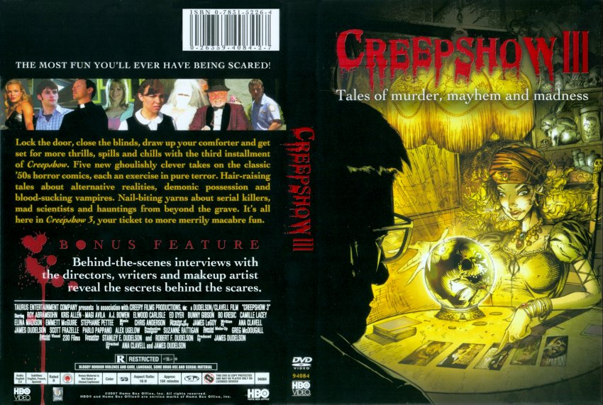 creepshow 3 french