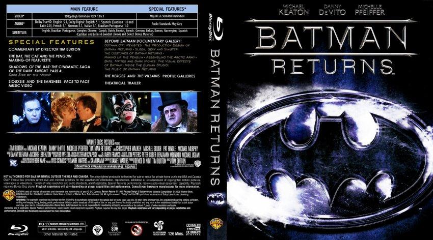 Batman Returns DVD Cover - Bing images