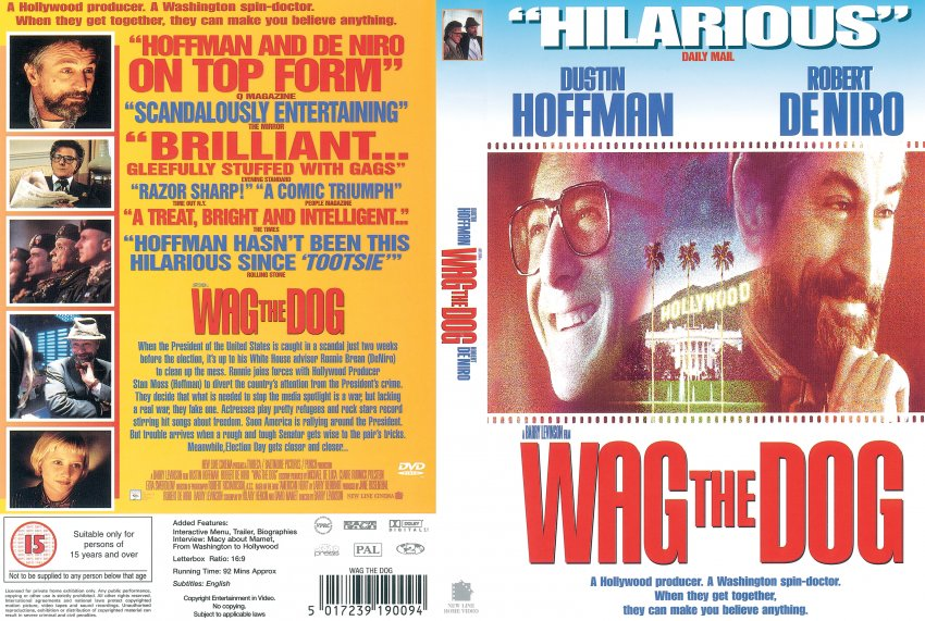 wag the dog r movie dvd scanned covers wag the dog r  wag the dog r2