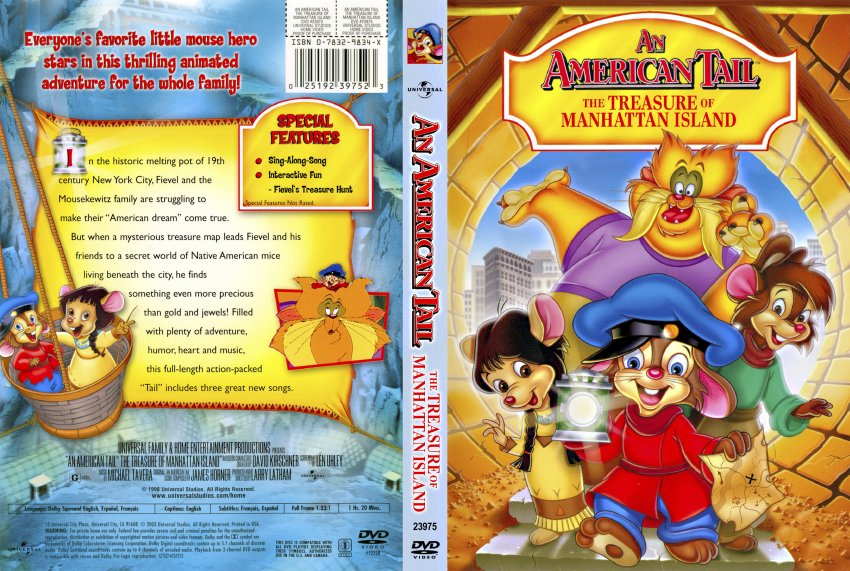 An American Tail  The Treasure Of Manhattan Island