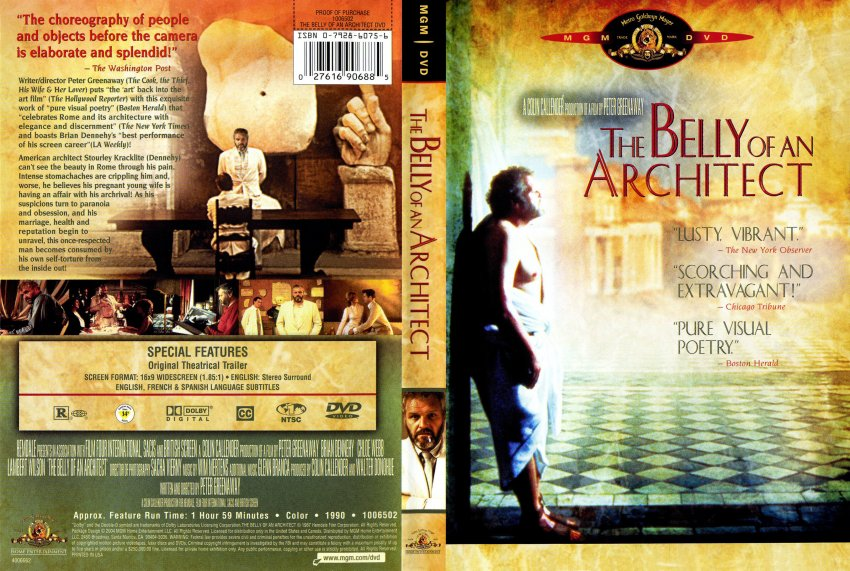 Belly of an architect movie dvd scanned covers 6belly for An architect