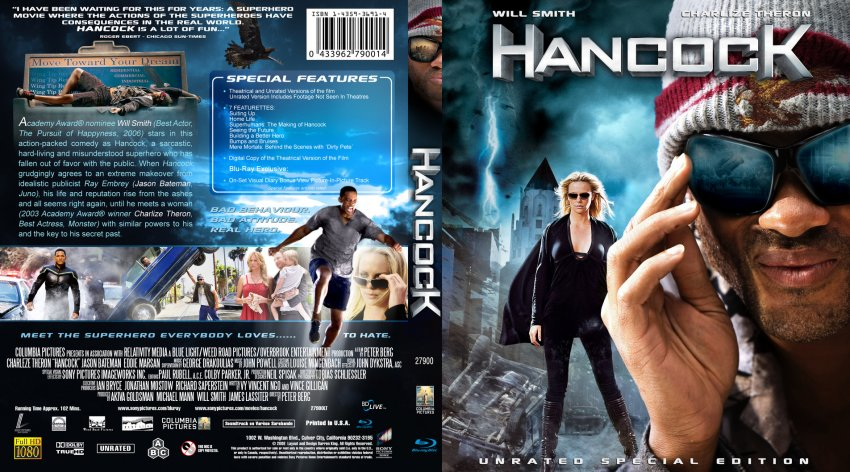 Hancock movie free