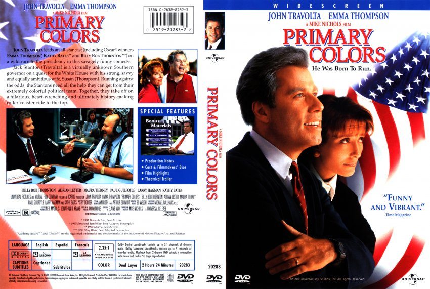 summary of the movie primary colors Who saw primary colors movie if ya plz tell summary of it in 5-6 sentence follow  4 answers 4.