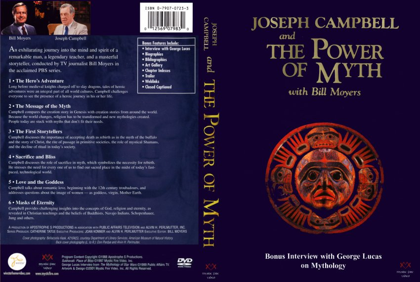 joseph campbell the power of myth I had never heard of joseph campbell before stumbling across this series on pbs one afternoon i was immediately absorbed in this penetrating (as deep as bill moyers goes) look at the power of myth and it's part in explaining our existence.
